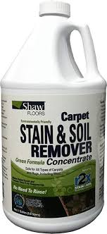 shaw floors r2x carpet sn and soil remover green formula concentrate refill 1 gallon