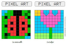Pixilart is an online pixel drawing application and social platform for creative minds who want to venture into the world of art, games, and programming. Modeles Pour Pixel Art Sur Le Theme Du Printemps Cp Ce1 Ce2 Fee Des Ecoles