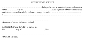 Affidavit Of Knowing A Person Filename Cool Green Jobs