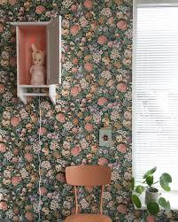 Bloemetjes Behang Behangpapier Vintage Behang Insta