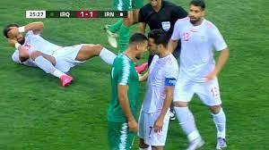 ملخص مباراة العراق وايران 2-1 | مباراة تاريخية | تعليق خالد الحدي |  التصفيات الآسيوية المزدوجة - YouTube