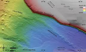 Texas Gulf Coast Water Depth Chart New Seafloor Map Reveals How Strange The Gulf Of Mexico Is