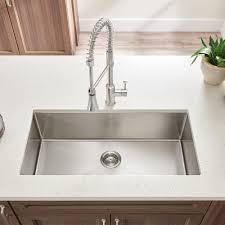 deep kitchen sinks unique pekoe extra deep undermount 23 18 single bowl kitchen sink