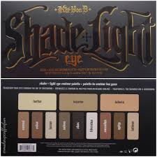 Kat Hon B Shade Light Eye Kat Von D Shade Light Eye Contour Palette Swatches And