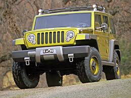 2004 Jeep Rescue Concept - Front Angle - Woods - 1024x768 Wallpaper