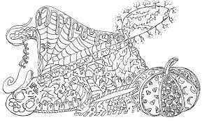 Small Picture Adult coloring page halloween Halloween 2
