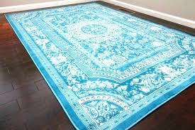 aqua area rug light s round rugs target