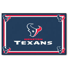 fanmats houston texans 4 ft x 6 ft area rug