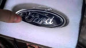 led emblem 4d ford color red youtube Ford Symbol at Illuminated Emblems Ford Wiring Diagram