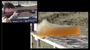Remington 45 70 Tests In Ballistic Gelatine