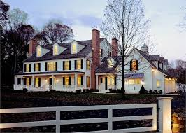 exterior paint colors for colonial style house. colonial exterior front dusk lighting paint colors for style house e