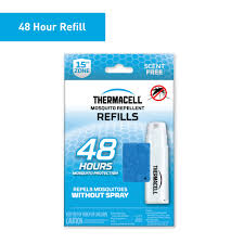 Thermacell <b>Mosquito Repellent</b> Refills; 12 <b>Mats</b> & 4 Fuel Cartridges ...