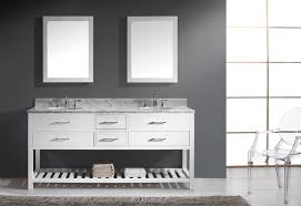 White Double Bathroom Vanities Virtu Usa Caroline Estate 72 Double Bathroom Vanity Set In White