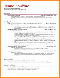 Sample Graduate Resume Cover Letter Stunning Simple Examples Resumes