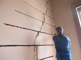 wall crack repair. Fine Repair Cracked Shopfront Walls For Wall Crack Repair