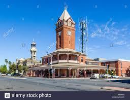 bellevue hill post office. Broken Hill, Argent Street, Post Office Federation Free Style Corner Clock And Bell Tower Bellevue Hill C