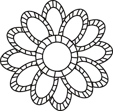 Small Picture Small Flower Coloring Pages exprimartdesigncom