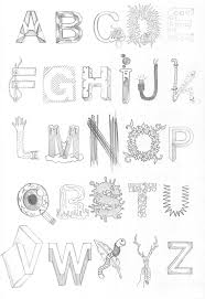cool letters to draw easy cool letter fonts to draw hand drawn abc