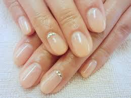 Simple Bridal Nail Bridal Hair And Nails カラーグラデーション