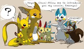 Pokemon Plusle Evolution Chart 16 Actual Emolga Pokemon Evolution