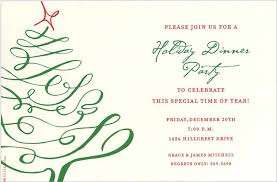 Christmas Dinner Invitation Templates Holiday Dinner Invitation Template Magdalene Project Org