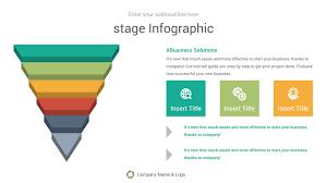 Funnel Infographics Keynote Presentation Template Diagrams