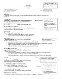 Mccombs Resume Format Mccombs Resume Template Resume Format Internship Free Examples 100 10