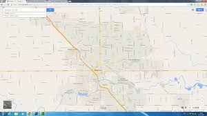 modesto california map