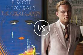 Book Vs Movie Venn Diagram 4 Fatal Differences Between The Great Gatsby Book And The