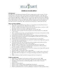 Alluring Medical Esthetician Resume Objective In Guide Resume With