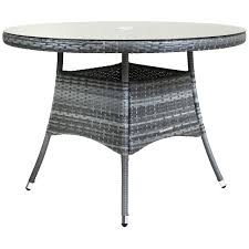 grey rattan dining table. charles-bentley-4-seater-medium-rattan-dining-table- grey rattan dining table y
