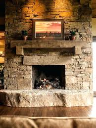 cultured stone fireplace mantel shelves stacked fireplaces rock cast
