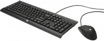 Комплект проводной <b>клавиатура</b>+мышь <b>HP Wired Combo</b> C2500 ...