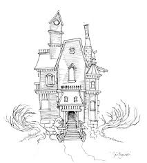 haunted house drawing. haunted house sketch 01 by ~magikmarker16 on deviantart drawing y