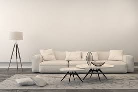 excellent ideas free living room furniture modern white sofa in a living room stock photo