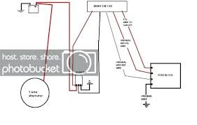 chevy 1 wire alternator diagram how to a gm type series wiring fig 1 wire alternator wiring diagram forward how