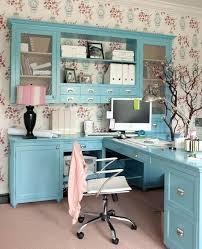 office room diy decoration blue. Decoration: Feminine Home Office Design Ideas Cozy Photo Details From These  We Diy Desk Decorating Office Room Diy Decoration Blue L