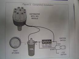 remote starter solenoid w points ign the 1947 present the yellow wire from the stsrter would be the lower most wire in this diagram the upper that says resistor comes off the firewall and most chevys i have