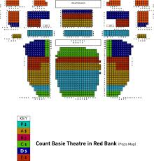 Count Basie Seating Chart Seating Chart