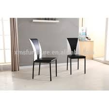 faux leather restaurant dining chairs. cheap faux leather metal black four legs kitchen restaurant dining chairs s