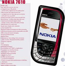 nokia 7610. nokia 7610 - black/red unlocked triband gsm cellphone with camera,bluetooth.