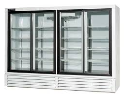 gliding glass door beverage refrigerators model bs103gd