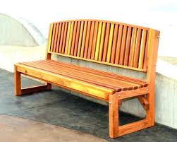 how to build an outdoor bench with back cedar build wood bench with back