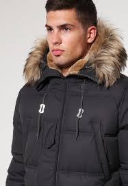 schott nyc men coats snork winter coat charcoal