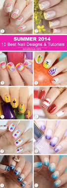 Summer Nail Designs 2014 Nails Summer 2014 10 Best Designs And Tutorials