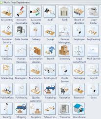 Workflow Chart Symbols Various 3d Workflow Chart Symbols
