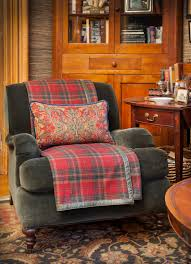 Plaid Living Room Furniture There Is Something Oddly Appealing And Cozy About A Tartan Chair