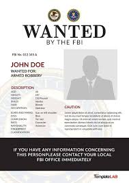Bolo Template 29 Free Wanted Poster Templates Fbi And Old West