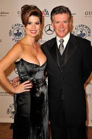alan thicke wife. Interesting Alan Alan Thicke With Wife Tanya Callau For Wife