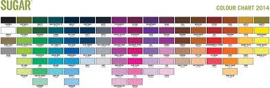 Ironlak Lak 400ml Color Chart 20 Color Charts The Paint